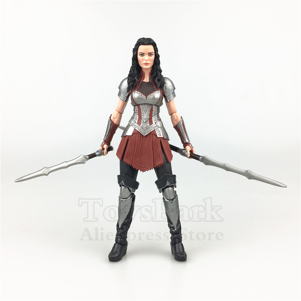 Marvel Legends 2013 Film Karanlık Dünya 6 SIF Action Figure 2018 10th Anniversa Thor 2 Paketi Studis Ilk on Yıl Tahsil